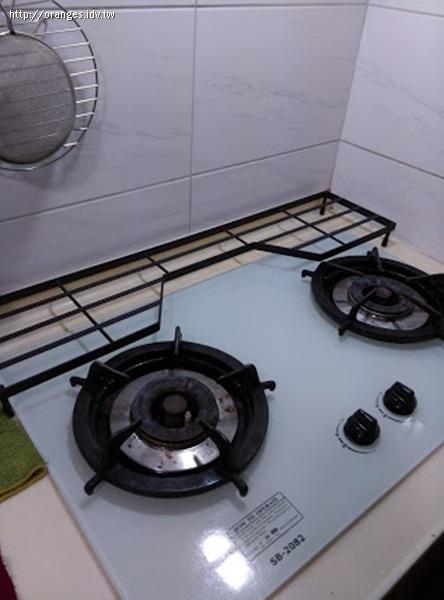 瓦斯爐周邊收納架