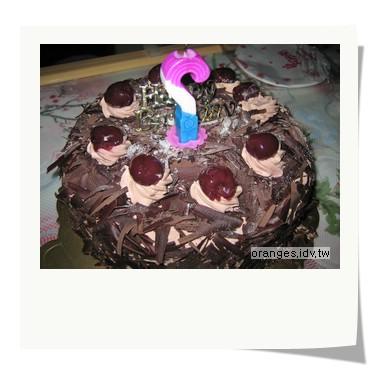 夏酪堤的黑森林蛋糕