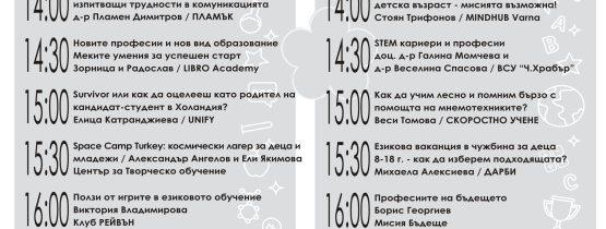 Теми на лекции, изложение Оранжево морето