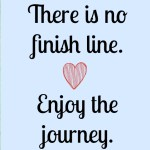 Journey not finish line