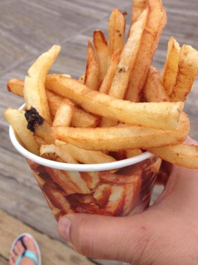 Boardwalk fries at Rehoboth Beach, DE!
