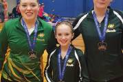 Heronettes Take Medals at East Zone Invitational