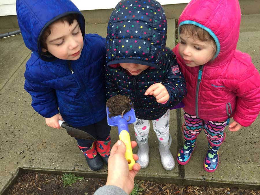 Pre-Schoolers Celebrate 7th Annual Root for Earth Week at Goddard School