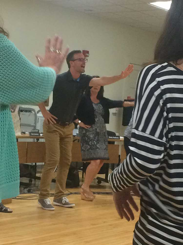 Board of Education Jams Out at Monthly Meeting