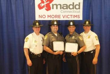 MADD Connecticut Honors Orange Officers