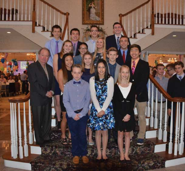 Woodbridge Aquatic Club Celebrates Successes at Swimming Awards Banquet