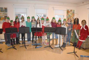 Peck Place School Recorder Club Performs