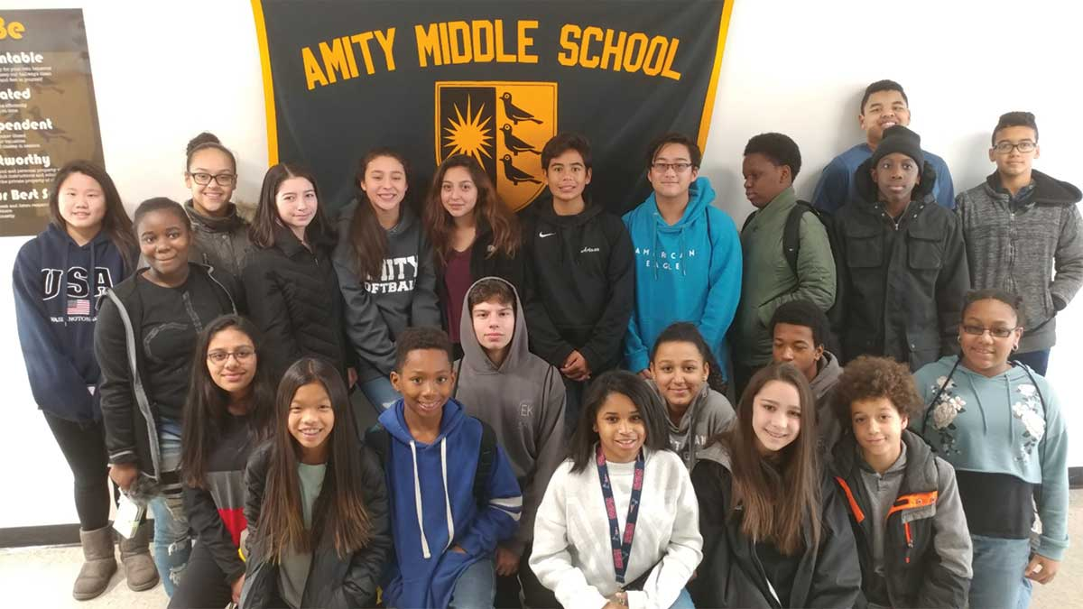 Amity Middle School Students Attend Discover, Lead! Leadership Conference
