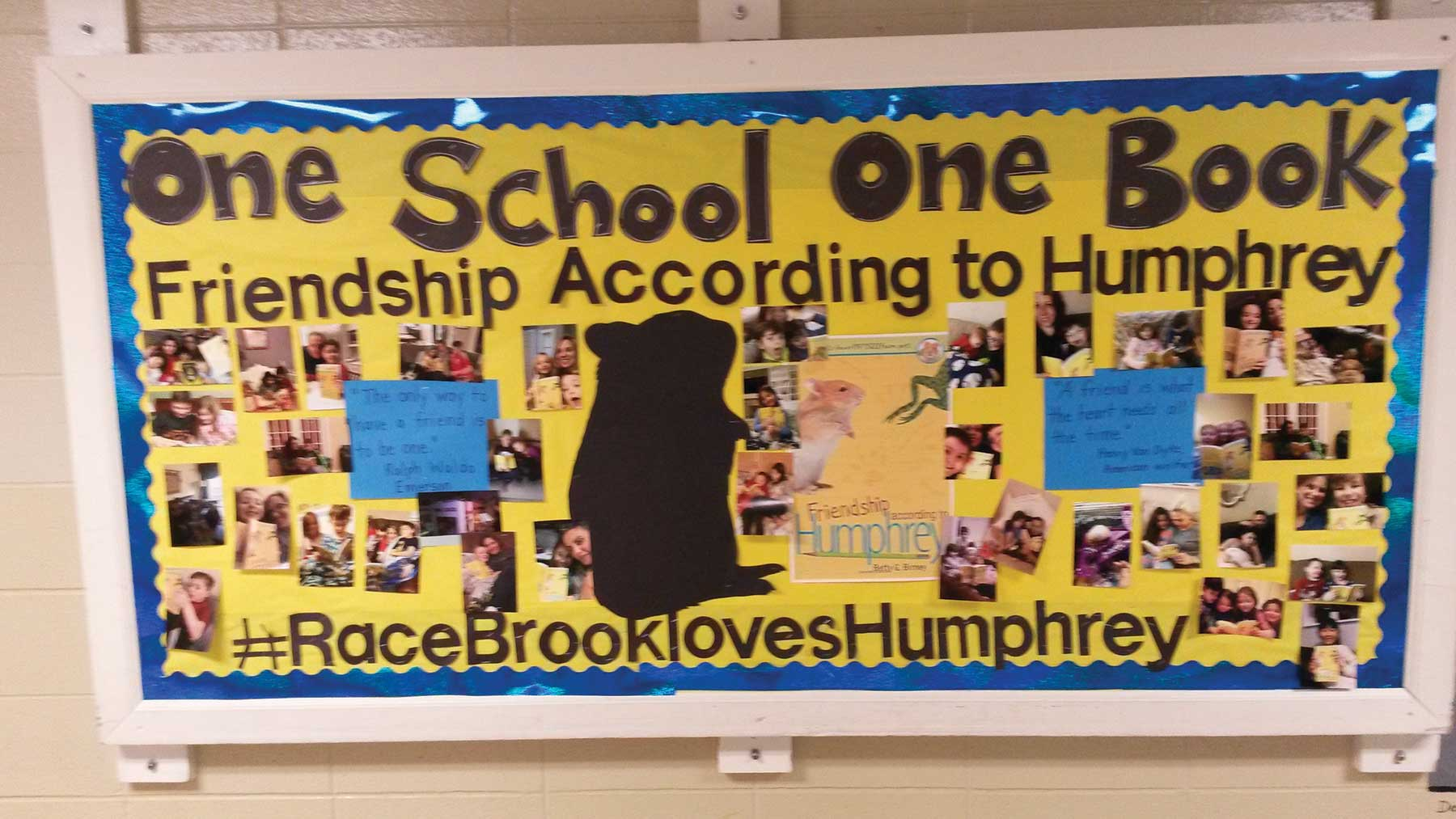 Race Brook Students Foster Love For Reading