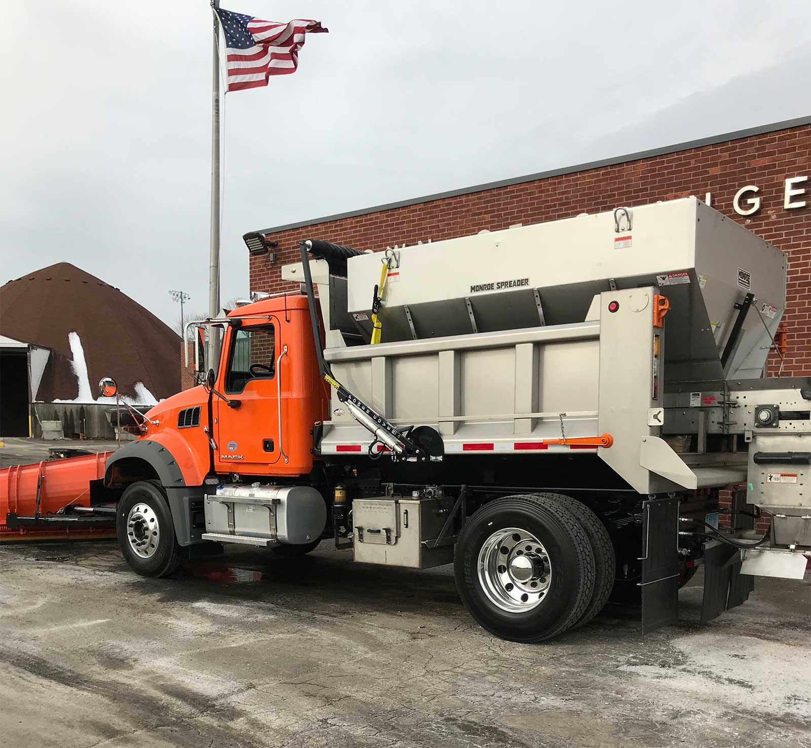Town Of Orange's New Snow Fighter