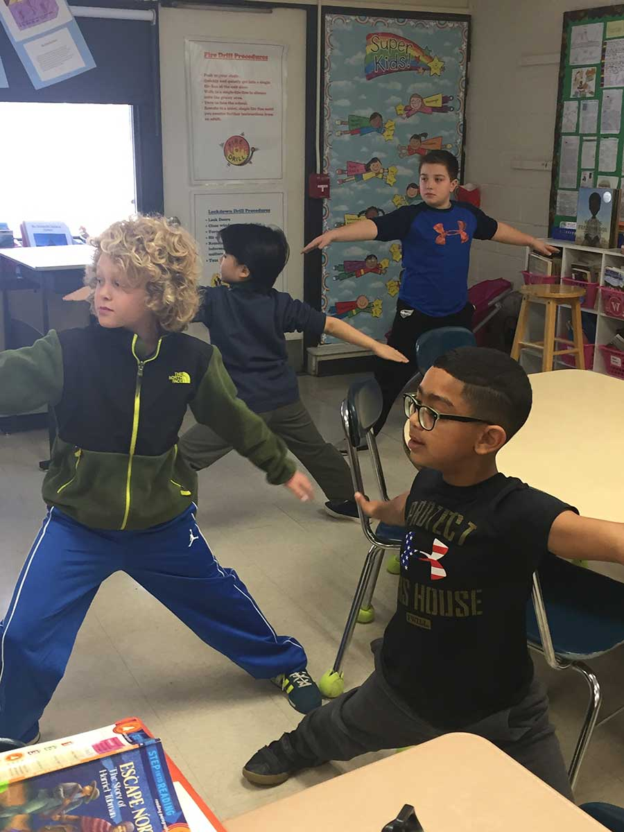 Tree of A Balanced Life Grant Project Big Hit at Race Brook School