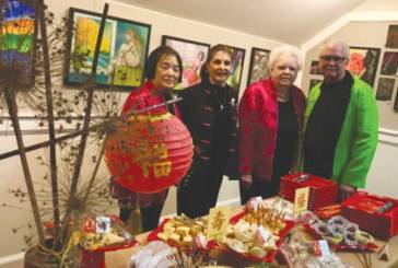 Garden Club Rings In Chinese New Year