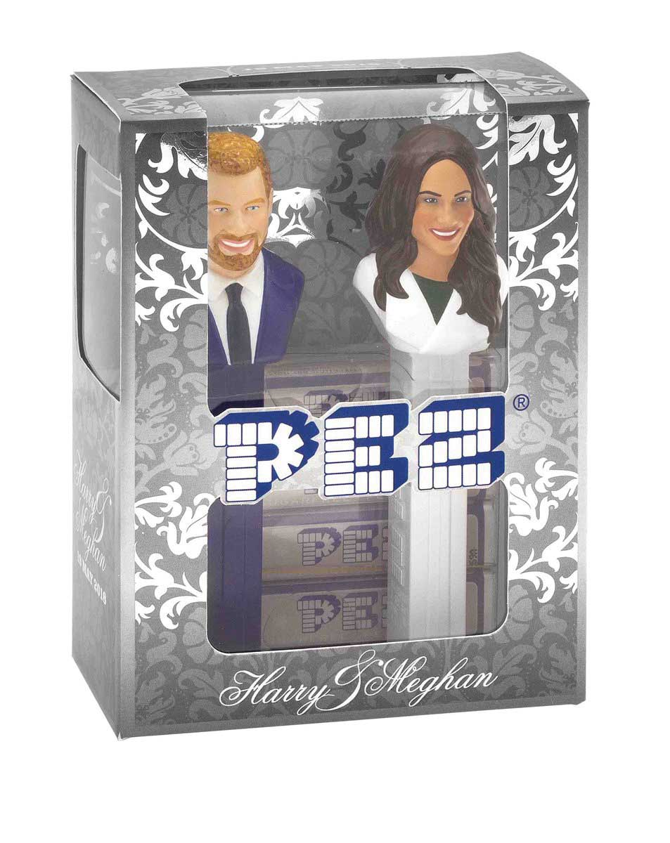 Royal Wedding Pez Containers for Charity