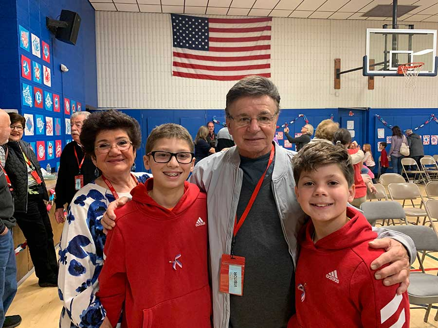 Peck Place School Honors Vets