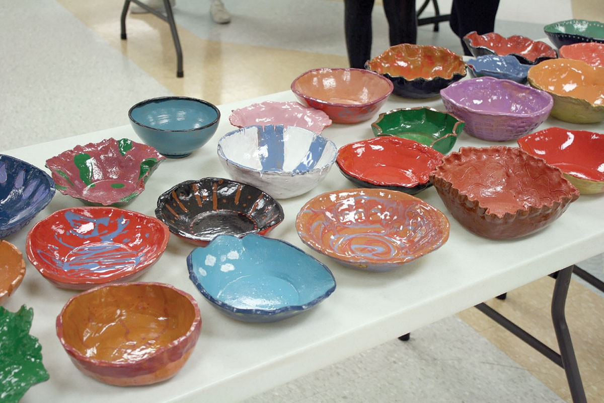 Amity Regional High School Art Students Give Back