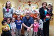 Holly Hill Childcare Makes Food Baskets For First Lutheran Church