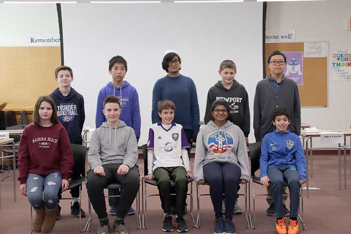 Amity Middle School In Orange National Geography Bee Finalists