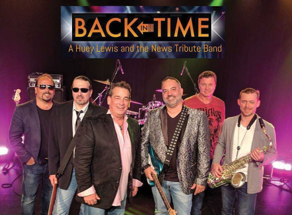 """Back in Time – A Tribute to Huey Lewis and the News"" Featured for the Orange Independence Day Concert & Fireworks Spectacular"