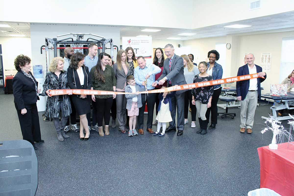 Grand Re-Opening of Physical Therapy & Sports Medicine Center