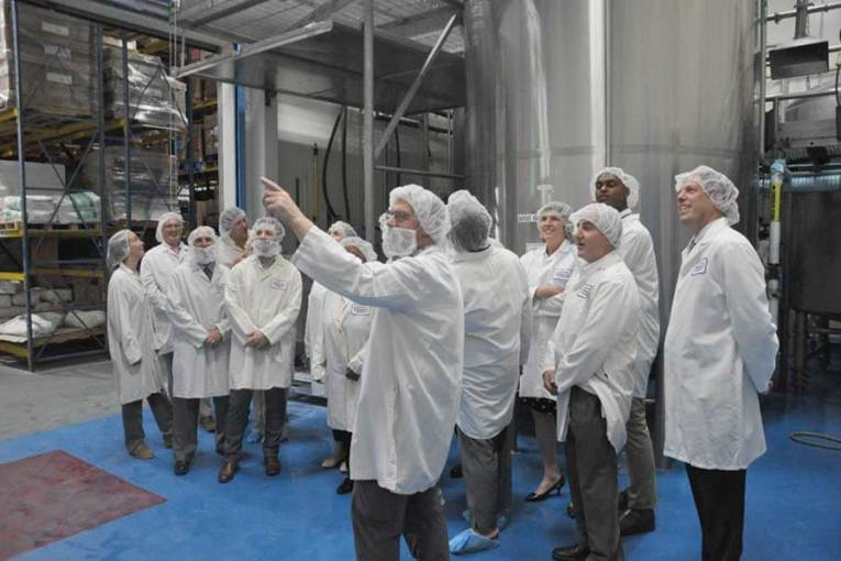 West Haven/Orange Facility Toured By CT Energy Efficiency Board (EEB)