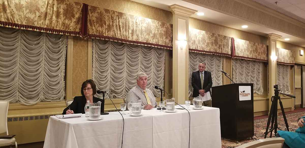 Candidates Face Off In Chamber Debate