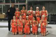 Holy Infant Lady Orange Capture Grade 8 Title