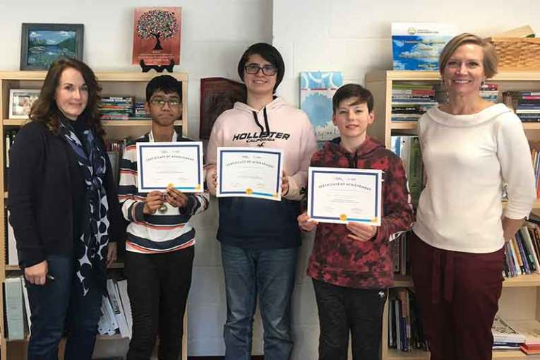 Local Student Named National Geographic GeoBee State Competition Semifinalist