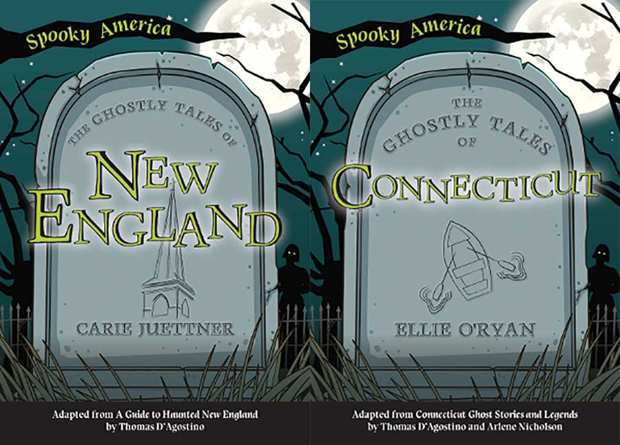 Coming Soon… The Ghostly Tales of Connecticut and New England