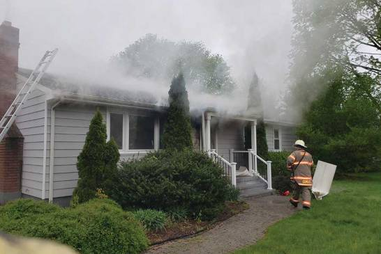 Orange Home Damaged by Early Morning Fire
