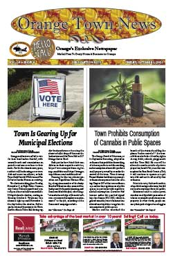 orange town news cover october 1, 2021