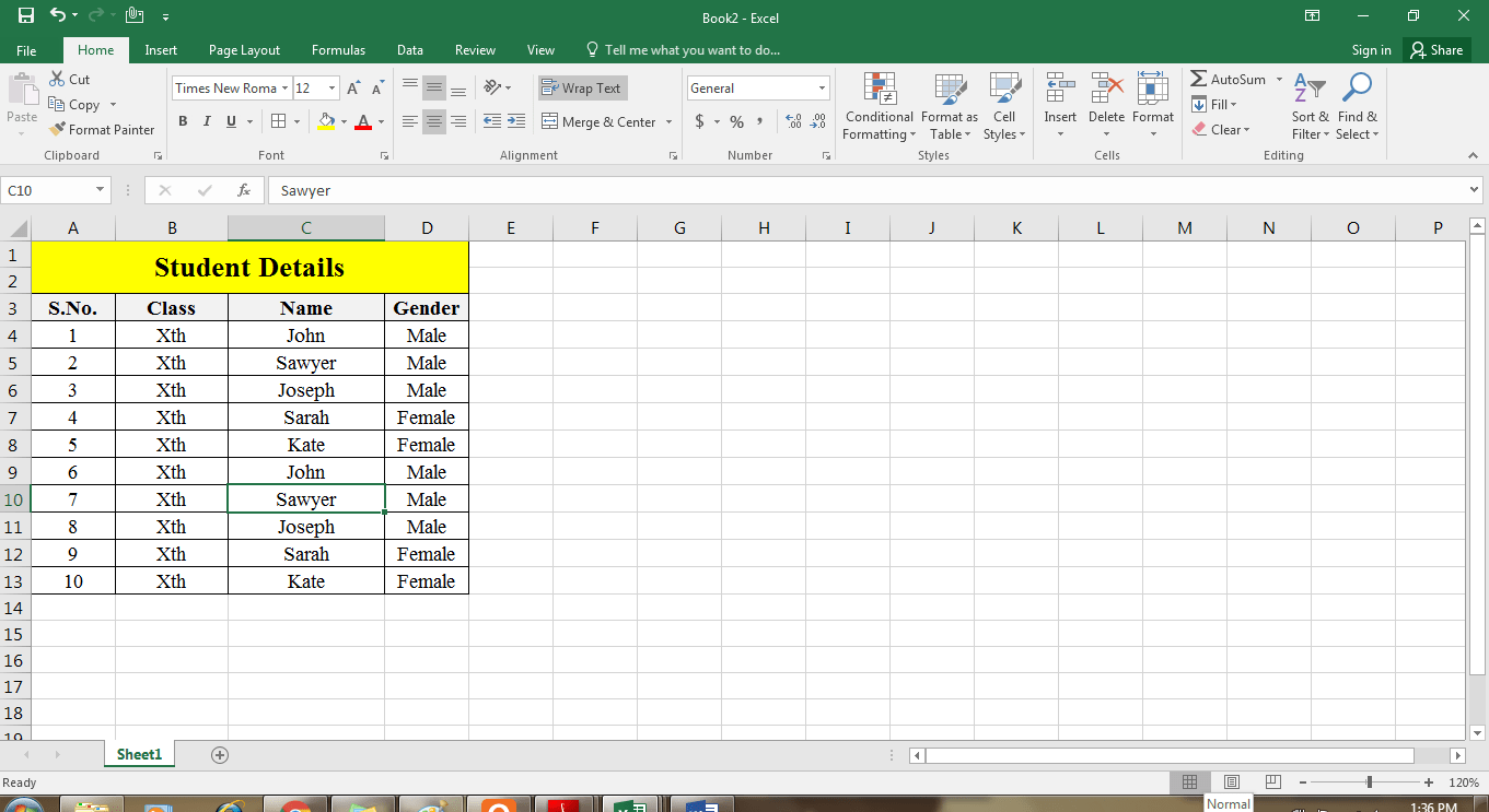 Creating And Opening An Microsoft Excel Workbook