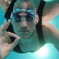 Немец провел 22 минуты под водой без воздуха