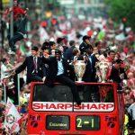 Pasukan bola sepak yang pernah menang treble di Eropah