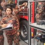 Wanita ni pecahkan rekod untuk jadi ketua balai bomba pertama