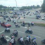 Buat aksi bahaya selepas peperiksaan SPM, polis trafik tahan 13 orang…