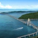 Jambatan Temburong di Borneo bakal jadi jambatan terpanjang Asia Tenggara
