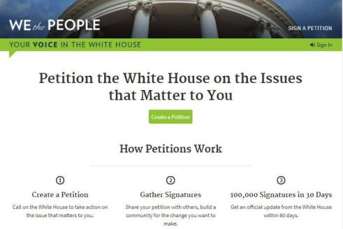 We The People White House