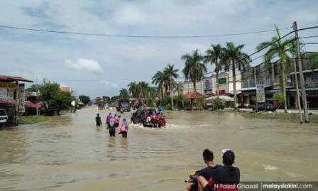 Banjir Kelantan Mangsa Terengganu