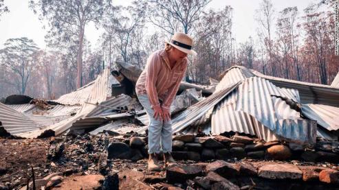 Australia Mangsa Api