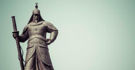 Seoul Patung Yi Sunsin