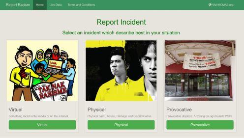 Report Racism