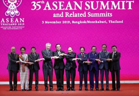 35th Asean Summit In Bangkok, Thailand