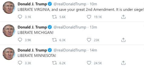 Donald Trump Liberate