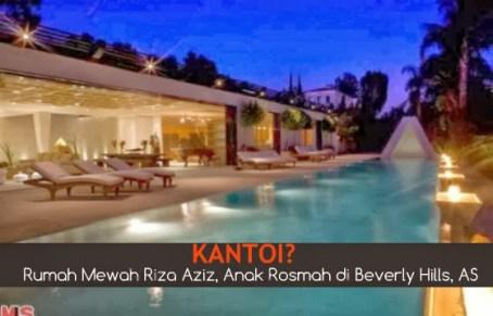 Rumah Riza Aziz Amerika