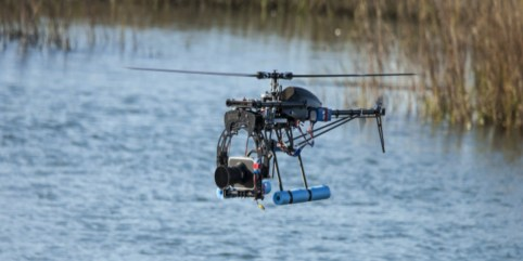 Dron Pencemar Sungai