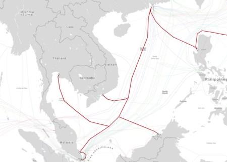 Kabel Dasar Laut Rosak