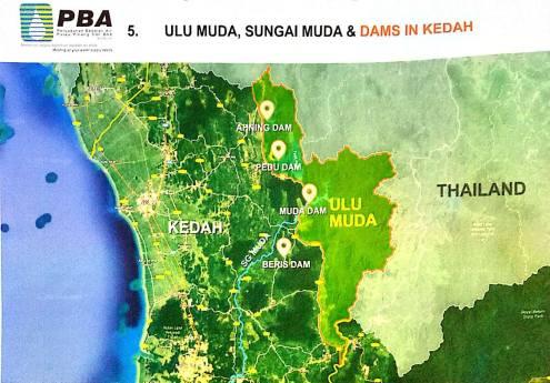 Kedah Peta Thailand