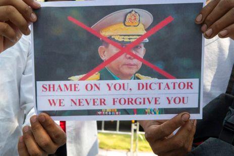 Kudeta Myanmar Coup