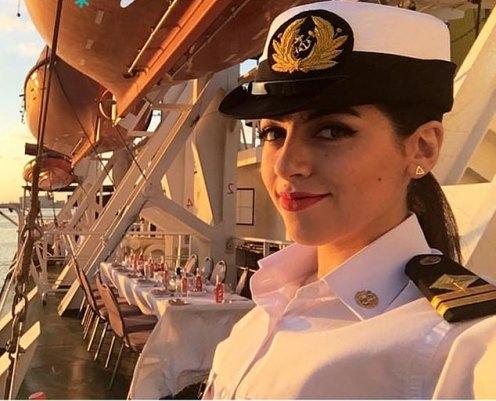 egypt female captain