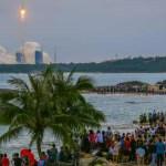 Serpihan roket China akhirnya turun ke bumi, ini perancangan angkasa China